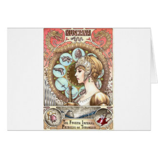 Warrior Princess Card