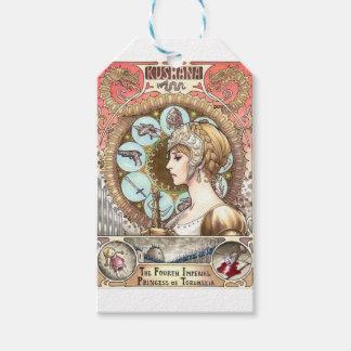 Warrior Princess Gift Tags