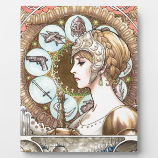 Warrior Princess Plaque