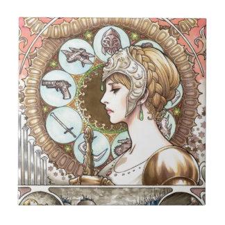 Warrior Princess Tile