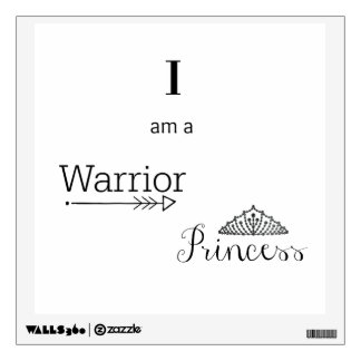 Warrior Princess Wall Decal