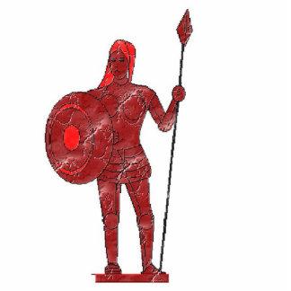 Warrior Queen lightning Standing Photo Sculpture