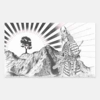 Warrior Samurai and raising sun - M1