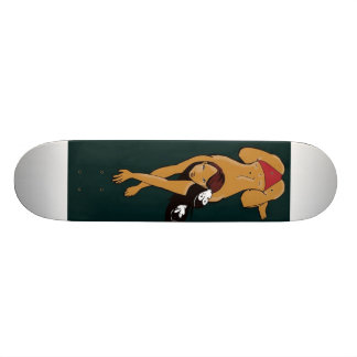 warrior skate board deck