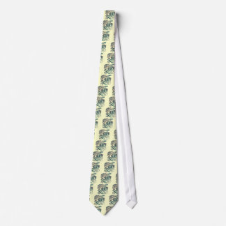 Warrior Skull 7th Birthday Gifts Tie