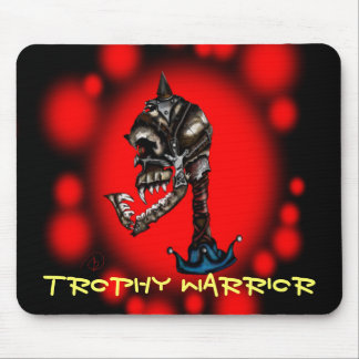 Warrior Skull Mouse Pad