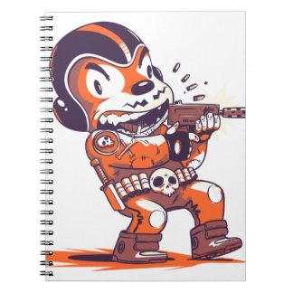 Warrior Spacial Notebooks