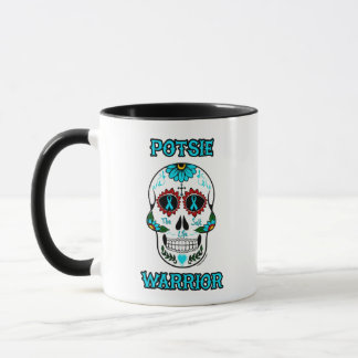 Warrior/Sugar skull...P.O.T.S. Mug
