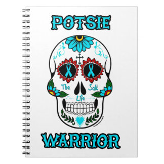 Warrior/Sugar skull...P.O.T.S. Notebooks