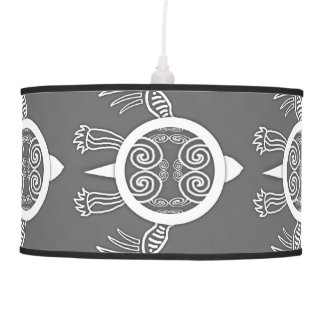 Warrior Turtle Pendant Lamp