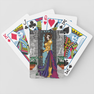 Warrior Woman Bicycle Playing Cards