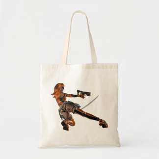 Warrior Woman Tote Bag