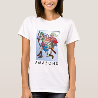 warriors, A M A Z O N S T-Shirt! T-Shirt