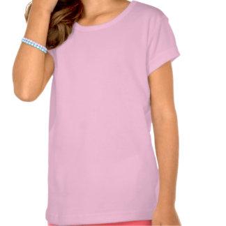 WarriorsCreed Logo Girls' Rainbow American Apparel Tshirts