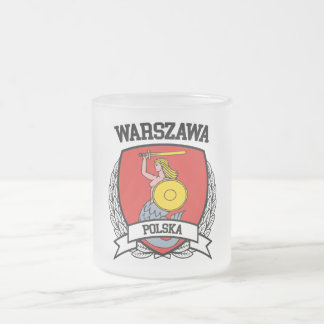 Warsaw Frosted Glass Coffee Mug