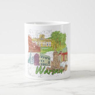 Warsaw Large Coffee Mug