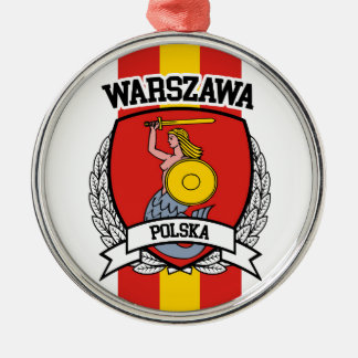 Warsaw Metal Ornament