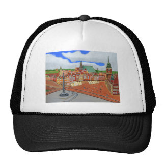Warsaw-Old Town Trucker Hat