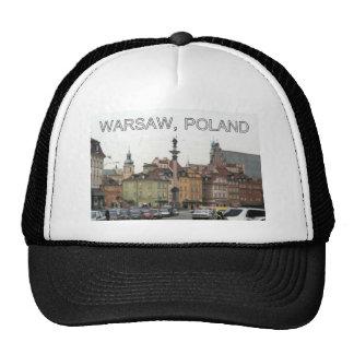 WARSAW POLAND STARE MIASTO OLD TOWN TRUCKER HAT