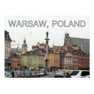 WARSAW POLAND STARE MIASTO OLD TOWN v.2 Postcard