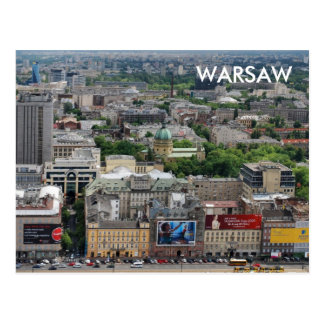 Warsaw Post Card