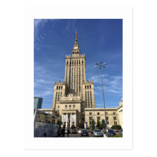 WARSAW TOWER POSTCARD
