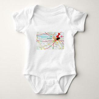 Warsaw, Warszawa  in Poland Baby Bodysuit