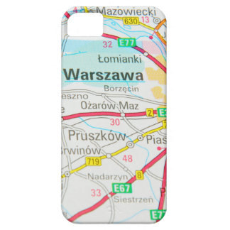 Warsaw, Warszawa  in Poland iPhone 5 Case
