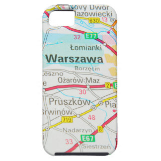 Warsaw, Warszawa  in Poland iPhone 5 Cover