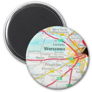 Warsaw, Warszawa  in Poland Magnet