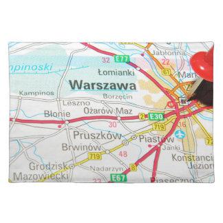 Warsaw, Warszawa  in Poland Placemat