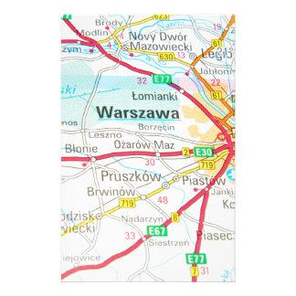 Warsaw, Warszawa  in Poland Stationery