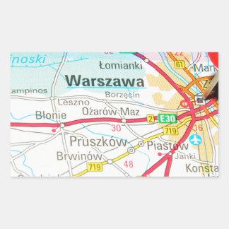 Warsaw, Warszawa  in Poland Sticker