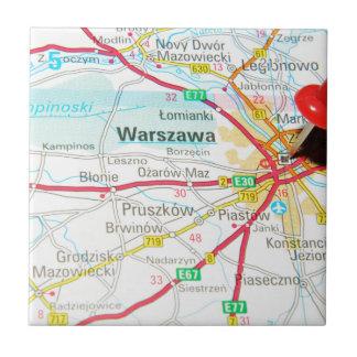 Warsaw, Warszawa  in Poland Tile