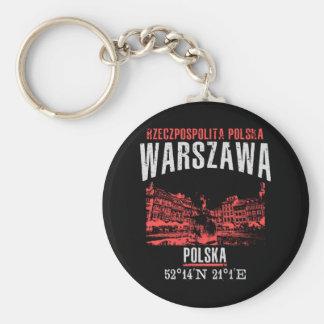 Warszawa Keychain