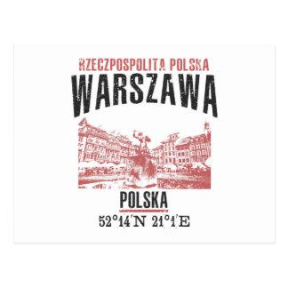 Warszawa Postcard