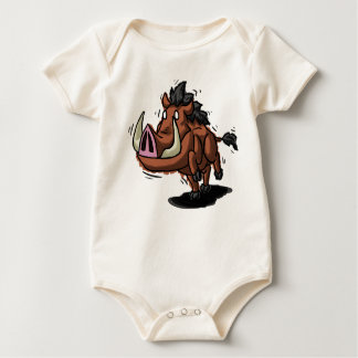 Warthog Babygrow Baby Bodysuit