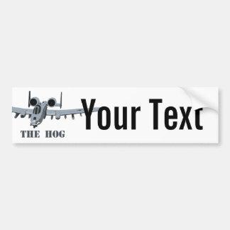 Warthog Car Bumper Sticker