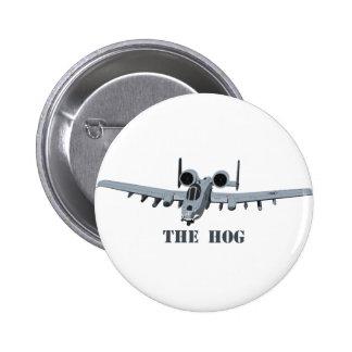 Warthog Pinback Button