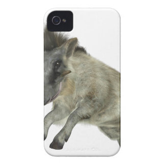 Warthog Jumping to Right Case-Mate iPhone 4 Cases