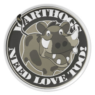 Warthog Love Party Plates