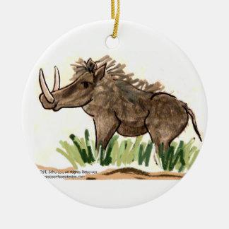 Warthog Ornament