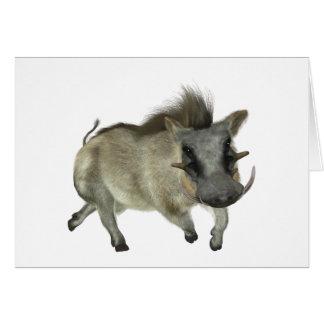 Warthog Running Left Card