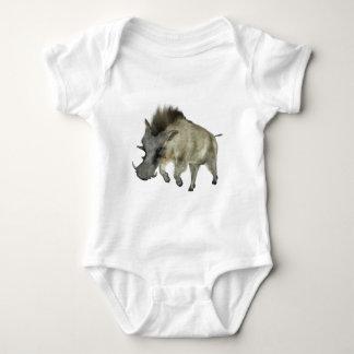 Warthog Running to Right Baby Bodysuit