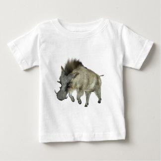Warthog Running to Right Baby T-Shirt