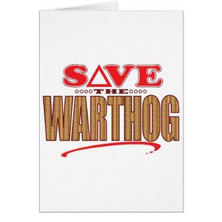 Warthog Save Card