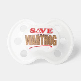 Warthog Save Pacifiers