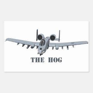 Warthog Rectangular Sticker