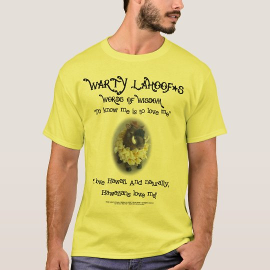 Warty LaHoof - Hawai'i T-Shirt