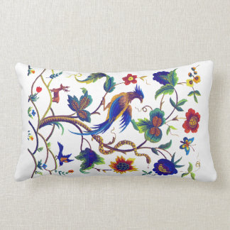 Warwick Bird of Paradise Faux Embroidery Pillow